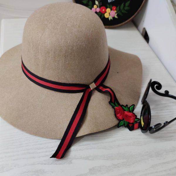 کلاه لبه دار دخترانه(نمدی)