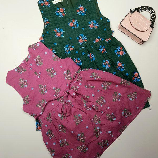 پیراهن گلدار