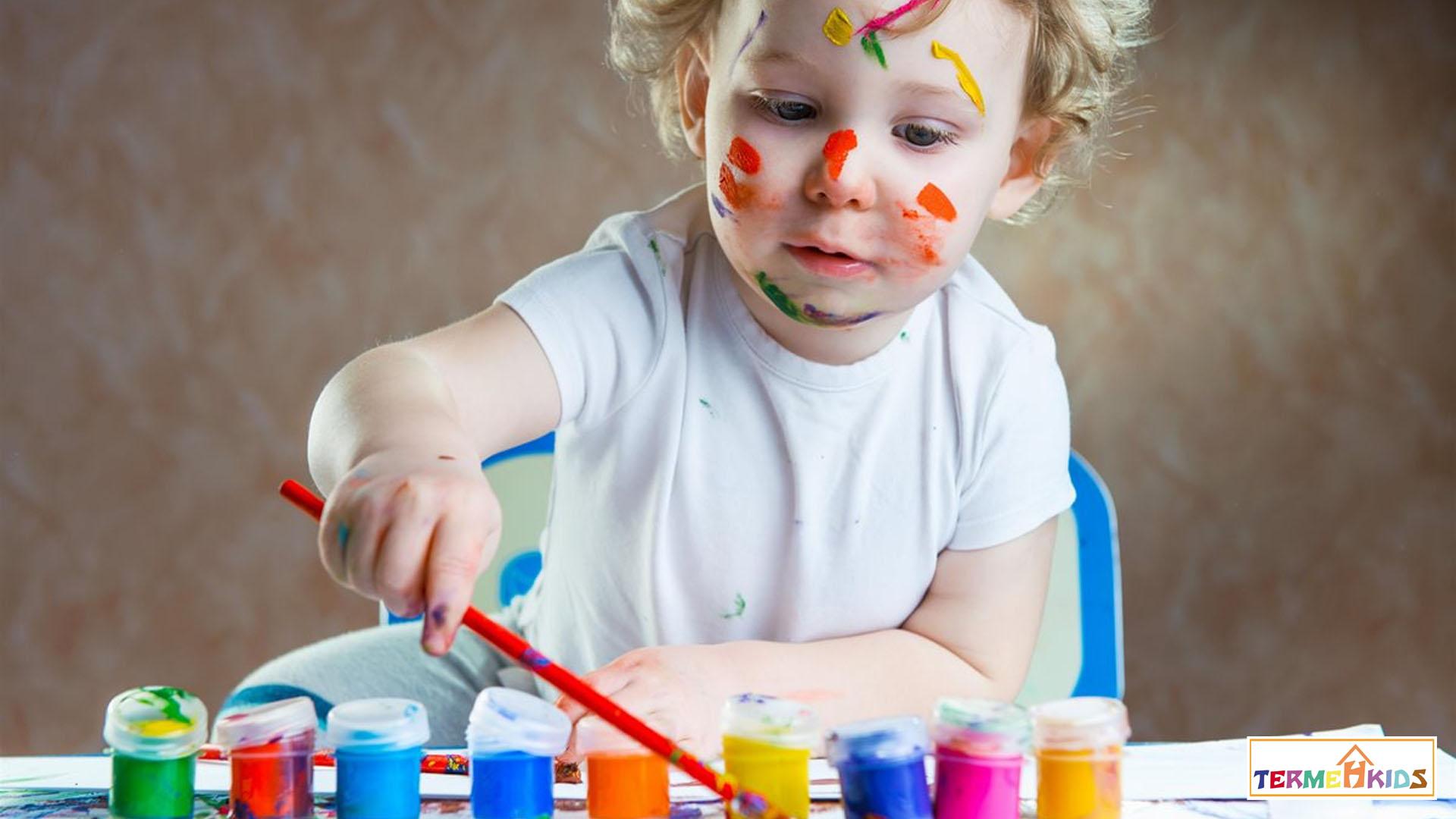 طراحی لباس کودک برگرفته از نقاشی کودکان