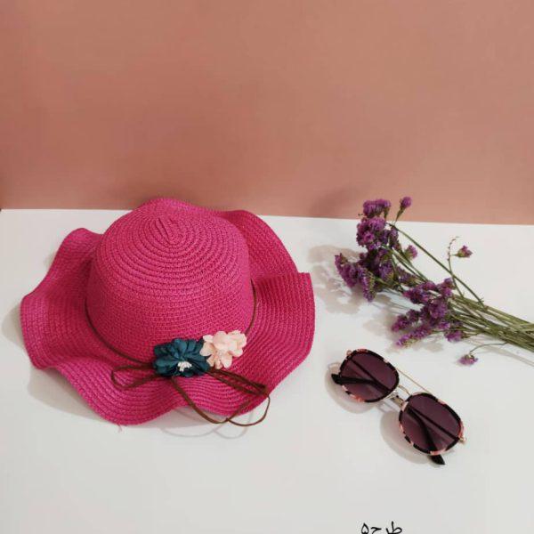 کلاه تابستانی دخترانه(حصیری)
